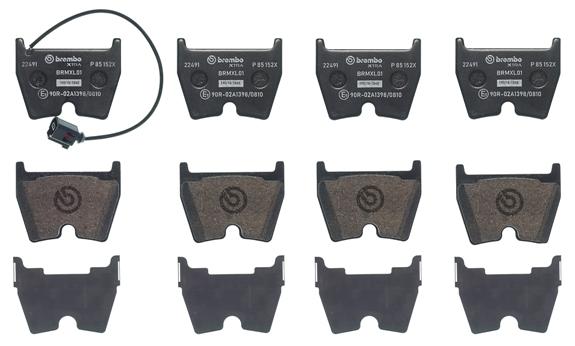 Scheibenbremse BREMBO P 85 057X BREMBO XTRA LINE passend für 1 Bremsbelagsatz