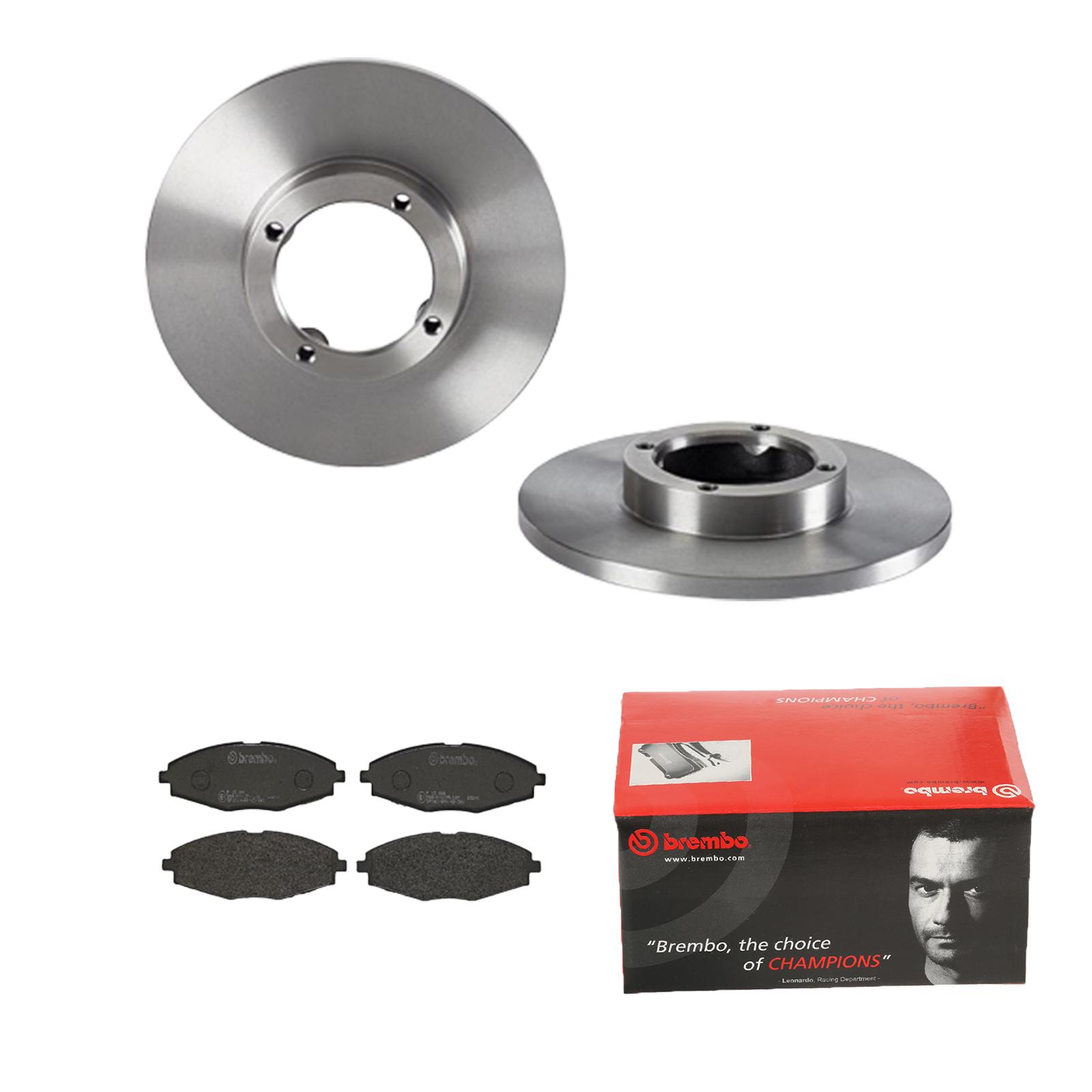 BREMBO2 Bremsscheiben belüftet Ø235 mm Beläge vorne für Mazda 1010-5 1 NA